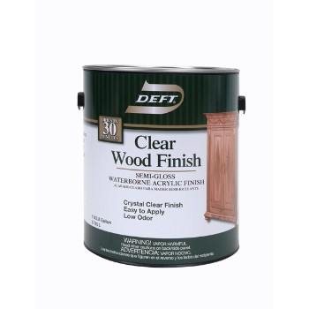 Semi-gloss Water Wood Finish