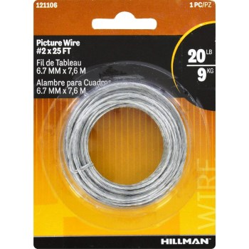 Picture Hanging Wire - 25 foot - Size 2