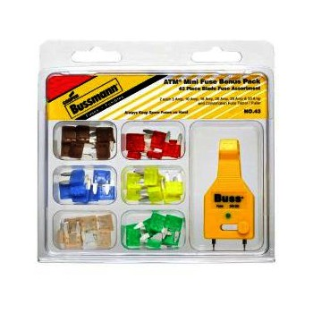 ATM Mini Fuse Assorted Service Pack