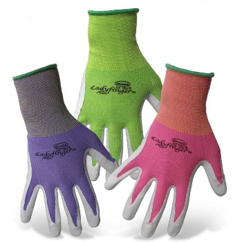 Ladies Nitrile Palm Gloves, Small
