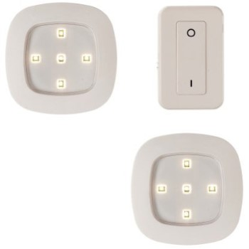 Wireless Remote Control Lighting System, 3 Piece