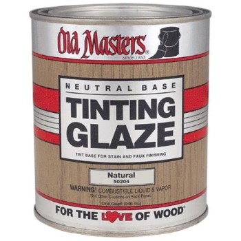 Tinting Glaze, Neutral Base  ~ Quart
