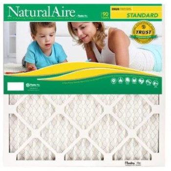 "Naturalaire Standard Pleated Air Filter ~   18"" x 18"" x 1"""