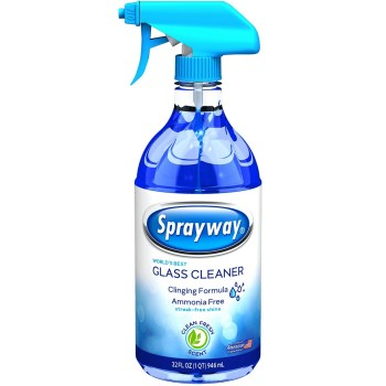 Sprayway Glass Cleaner Clinging Spray ~ 32 oz Spray