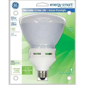 General Electric  21718 Indoor Floodlight, Dimmable 26 watt