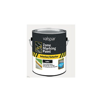Latex Traffic Paint, Yellow ~ Gallon
