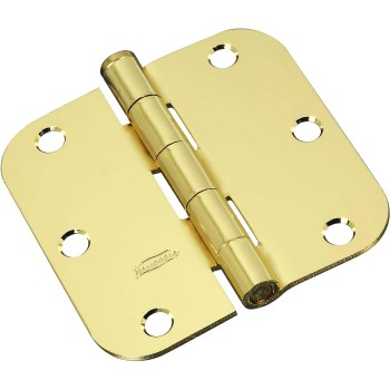 Brass Door Hinge, Visual Pack 512 rc 3 - 1/2 inches