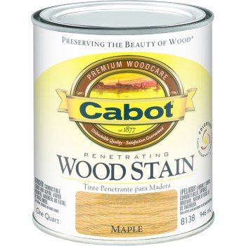 Wood Stain - Maple - 1 quart