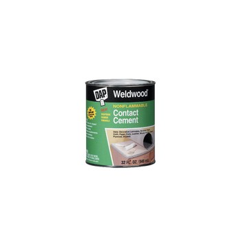 Contact Cement, Non-flammable - 1 Gallon