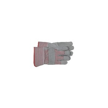 Split Leather Palm Gloves - Large Safety Cuff