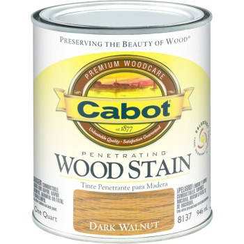 Wood Stain - Interior - Dark Walnut ~ Quart