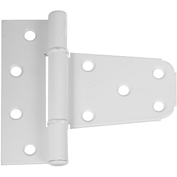 V283 3-1/2 White Gate Hinge