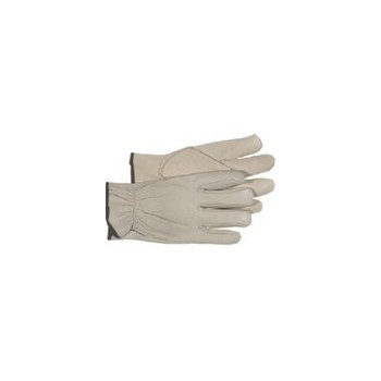 Leather Gloves - Premium Grain - Unlined - Large