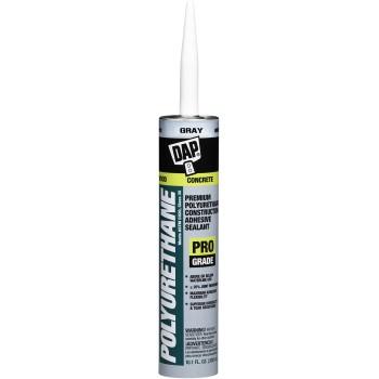 DAP 18814 Premium Polyurethane Construction Sealant, Gray ~ 10.1 oz Tubes