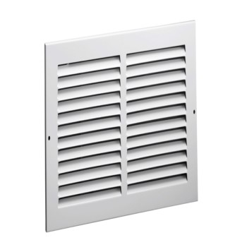 "Side Wall Return Air Grille, White ~ 30"" x 6"""