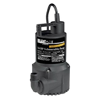 Submersible Utility Pump, 1 / 6 HP