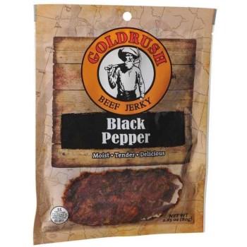 Medina Foods Inc 72128 2.85oz Pepper Beef Jerky