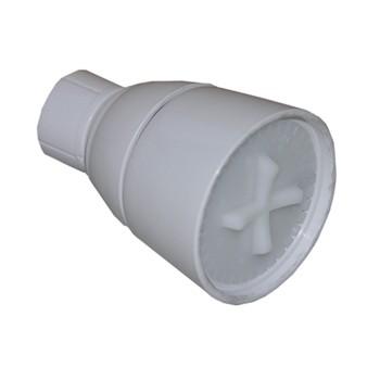 Larsen 08-2241 Adjustable Spray Shower Head,  White