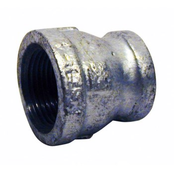 "Malleable Iron Reducer, Galvanized  ~ 1/2"" x 1/4"""
