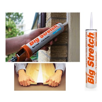 Big Stretch Acrylic Sealant, White 29 oz.