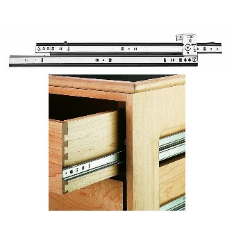 Drawer Slides,  Side Track - 60 lb Max Load ~ 20""