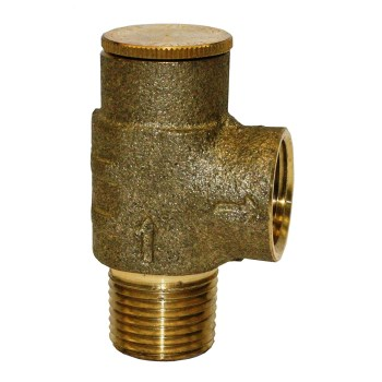 No Lead Pressure Relief Valve ~ 1/2""