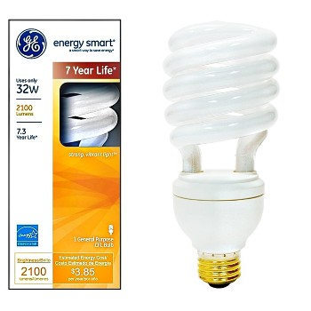 Energy Smart CFL Spiral Bulb ~ 32 Watt