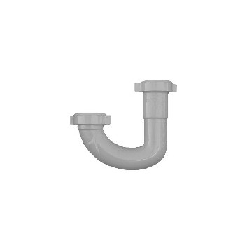 J-Bend Basin Trap,  1-1/4 inch