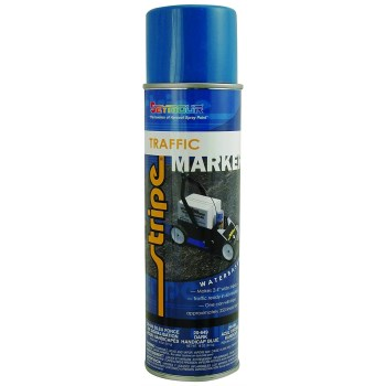 Seymour Paint 20-649 Dark Handicap Blue Traffic Paint ~ 20 oz  Aerosol