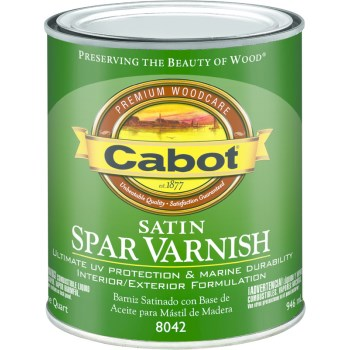 Spar Varnish, Satin ~ Quart