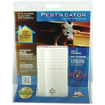 Rodent Pest Control,  Electronic Pulse/Ultrasonic ~ 2,000 SF