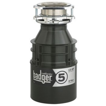 Insinkerator BADGER5 Disposer, Badger 1/2 hp