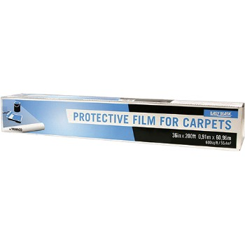 "Protective Film for Carpets ~ 36"" x 200 Ft x 3 mil"
