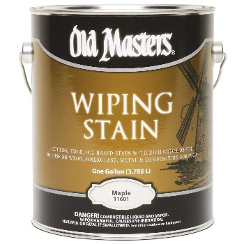 Wiping Wood Stain, Maple ~ Gallon