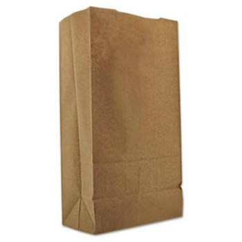 Clayton Paper DUR18406 6# Brown Grocery Bag