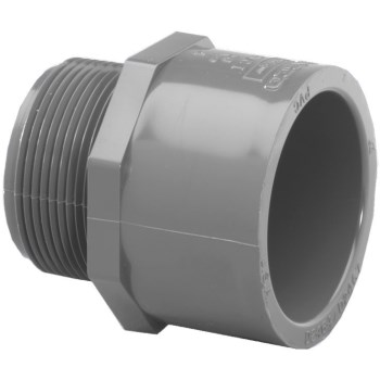 1/2in. Pvc S80 M Adapter