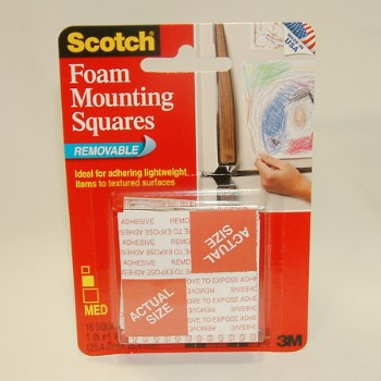 Mounting Tape - Removable Squares