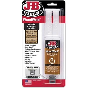 J-B Weld 50151 25ml Woodweld Syringe