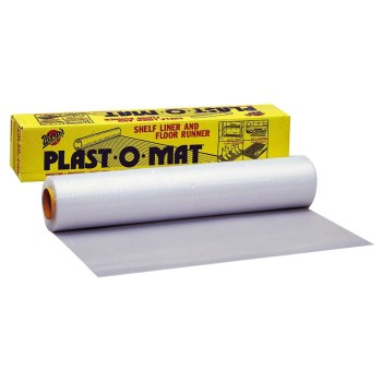 "Warps 30"" X 50' Clear Plast-O-Mat PM-50"