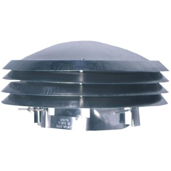 "LL Bldg Prods 5070 Vent Cap, Adjustable Versa Cap  ~ 5"" - 7"""