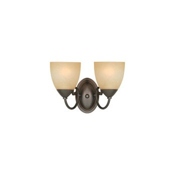 2 Light Wall Light Fixture, Berkshire
