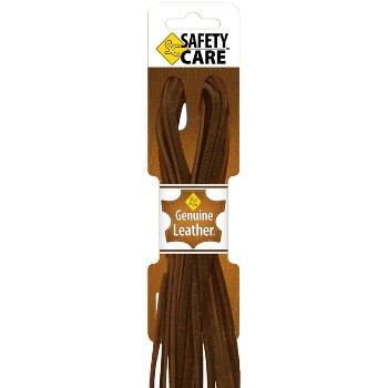 Manakey Group   54001 Boot Laces, Brown Leather ~ 72""