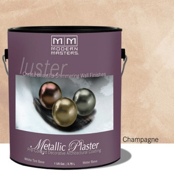 Plaster, Metallic ~ Champagne/One Gallon