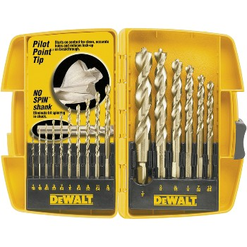 Drill Bit Set, 16 pieces