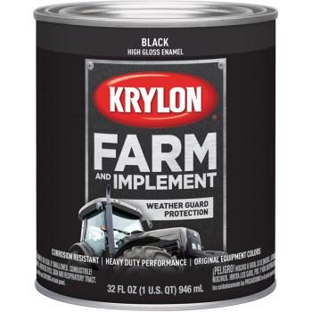 Krylon K02020000 2020 Qt Gloss Black Paint