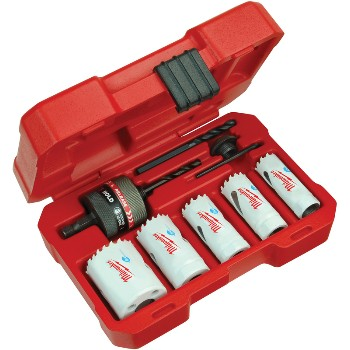 8pc Hole Saw Kit