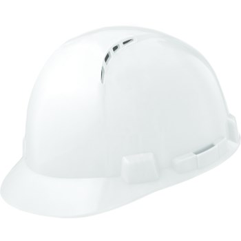 Hbsc-7w Wh Vented Hard Hat