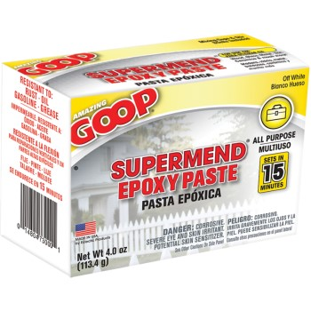 SuperMend Epoxy Paste, Off-White ~ 4 oz