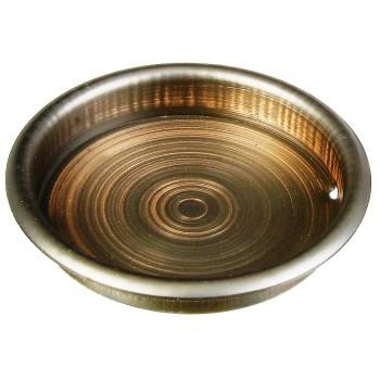 """National N335-745 Door Cup Pulls, Antique Bronze Finish ~ 2 1/8"""" N335-745"""