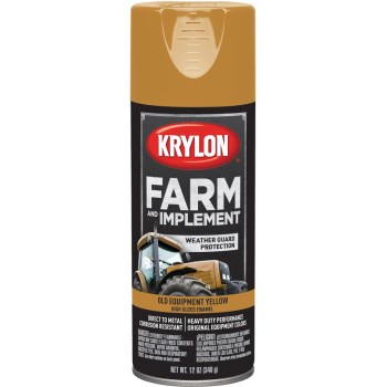 Krylon K01953000 1953 Sp Old Equipment Yellow